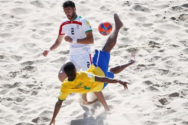 تیم ملی فوتبال ساحلی ایران به جام بین قاره ای امارات دعوت شد