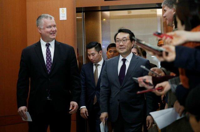 فرستاده ویژه کره جنوبی با نماینده آمریکا در امور کره شمالی دیدار می کند