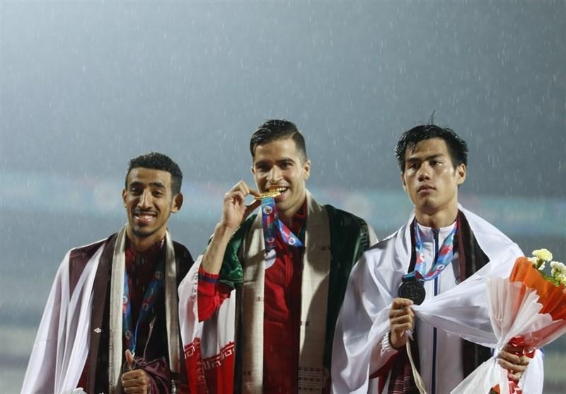 دوومیدانی کاران مدال آور ایران در رقابت های قهرمانی آسیا به روایت تصویر