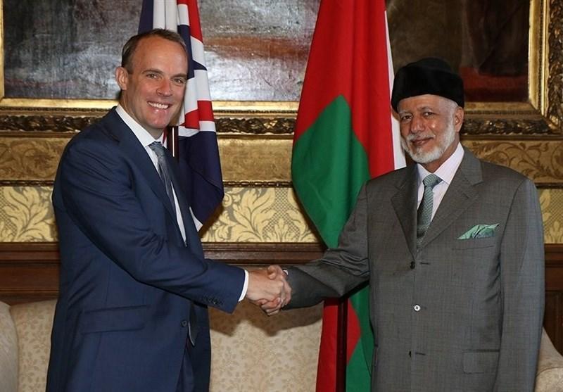 ملاقات وزرای خارجه انگلیس و عمان
