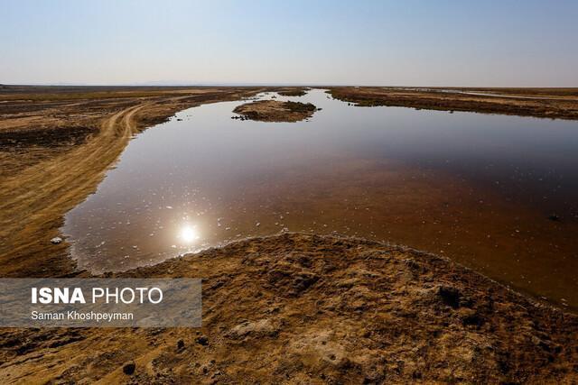 نجات تالاب های قم، راهکاری مهم در مقابله با گرد و غبار است