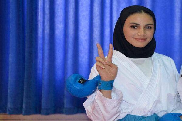 نایب قهرمانی آل سعدی در لیگ برتر کاراته وان امارات