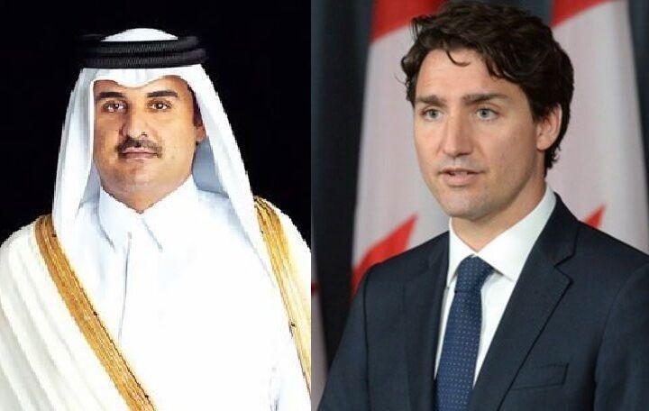 خبرنگاران سران کانادا و قطر راه های کاهش تنش در منطقه را آنالیز کردند