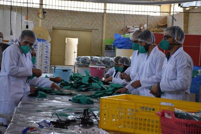 توزیع رایگان 164 هزار ماسک N95 در فارس