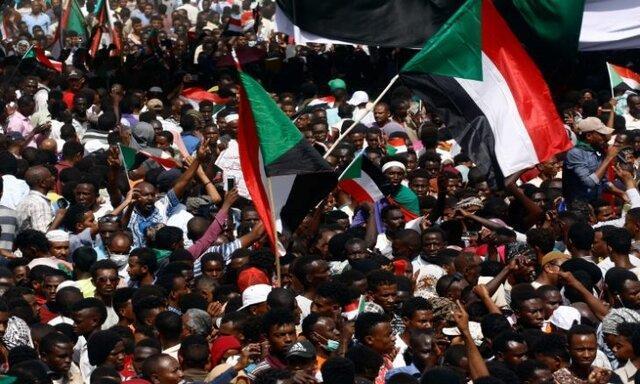 تظاهرات علیه دولت انتقالی سودان به دلیل شرایط بد مالی