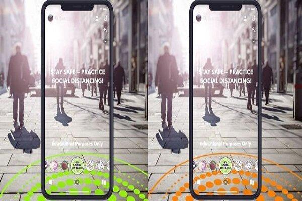 فاصله گذاری اجتماعی با لنزهای واقعیت مجازی