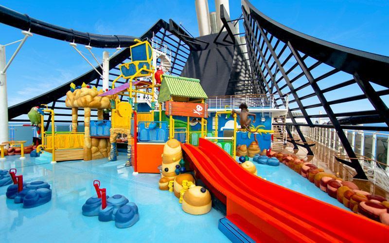 امکانات ویژه کشتی برای کودکان