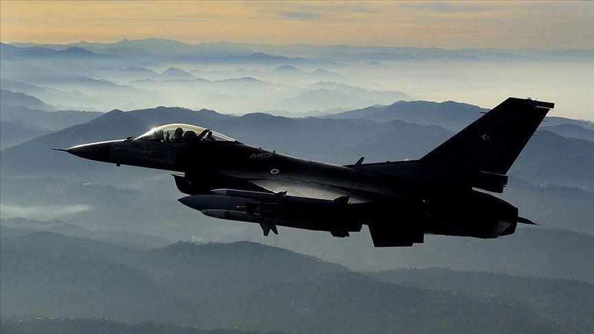 عملیات هوایی ارتش ترکیه علیه مواضع پ.ک.ک در شمال عراق