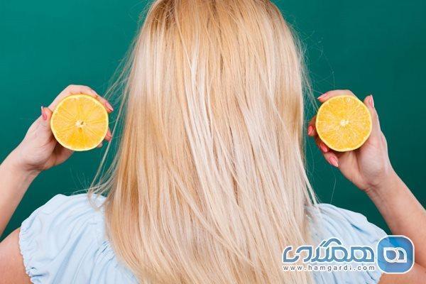 نسخه آبلیمویی برای افزایش رشد مو