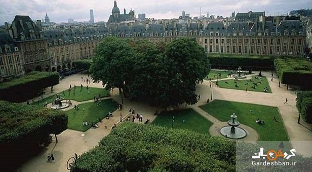 میدان ووژ؛قدیمی ترین میدان پاریس