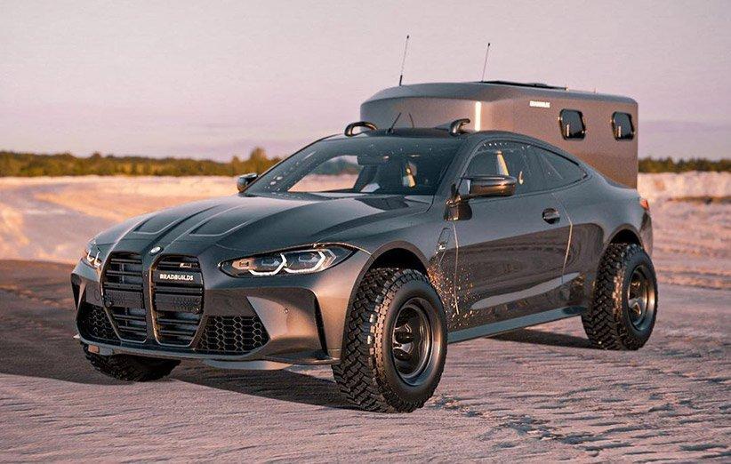 طرح BMW M4 2021 بهینه شده برای کمپینگ منتشر شد