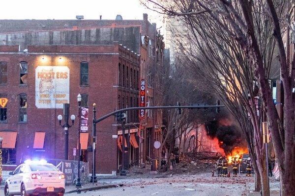فردی مرتبط با انفجار شهر نشویل در تنسی آمریکا شناسایی شد