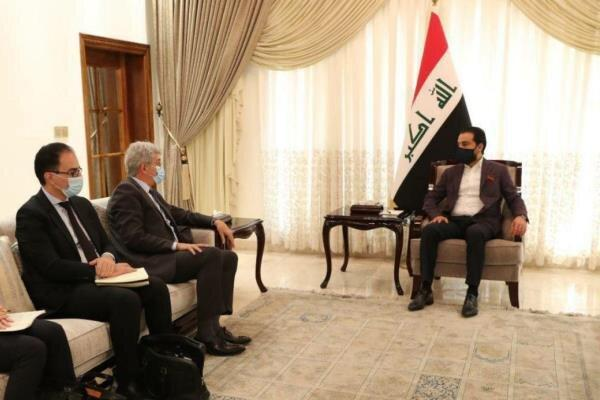 فرانسه از پیشرفت و ثبات عراق حمایت می نماید