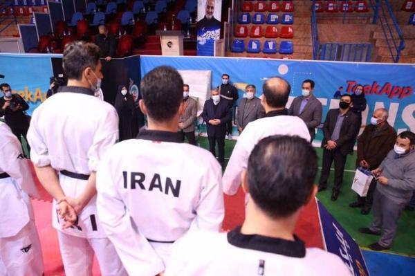 رئیس کمیته ملی المپیک از اردوی تیم ملی تکواندو بازدید کرد