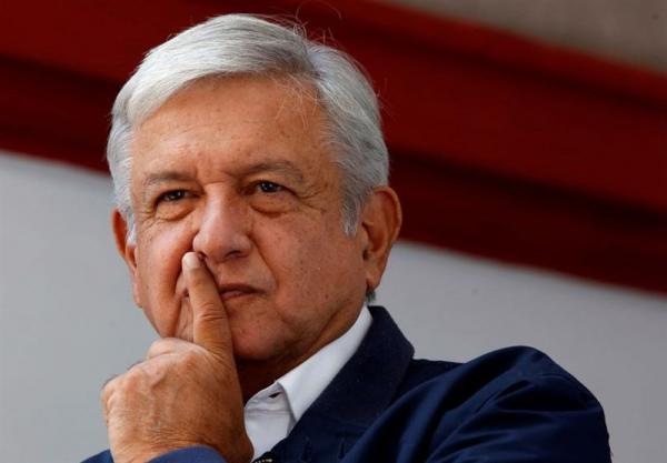 واکنش رئیس جمهور مکزیک به توقف ساخت دیوار مرزی