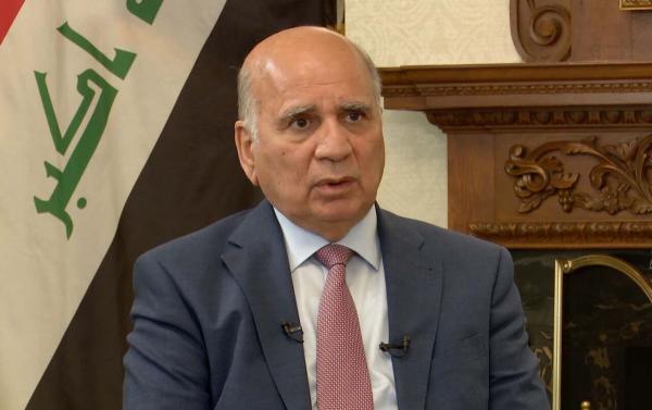 خبرنگاران وزیر خارجه عراق: گفت وگو تنها راه چاره مسائل است