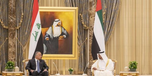 الکاظمی در ملاقات با بن زاید: در های عراق بر روی شرکت های امارات باز است خبرنگاران