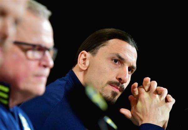 اشک های زلاتان در اولین نشست خبری اش پس از بازگشت به تیم ملی سوئد