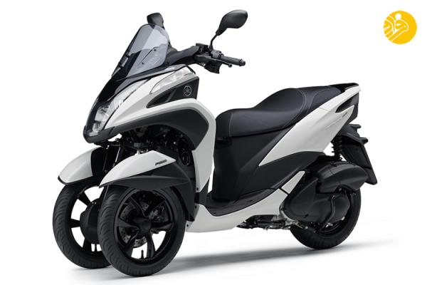 رونمایی یاما ها از یک موتورسیکلت شگفت انگیز سه چرخ