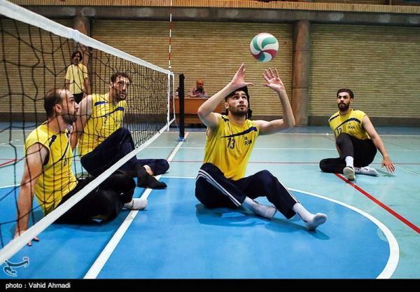 شروع چهاردهمین مرحله اردوی تیم ملی والیبال نشسته مردان از 17 خرداد