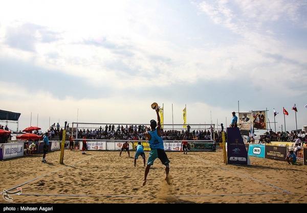 والیبال ساحلی انتخابی المپیک، فزونی ایران مقابل قطر