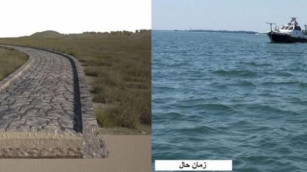 برآورد در خصوص وجود یک جاده باستانی زیر آب های ونیز