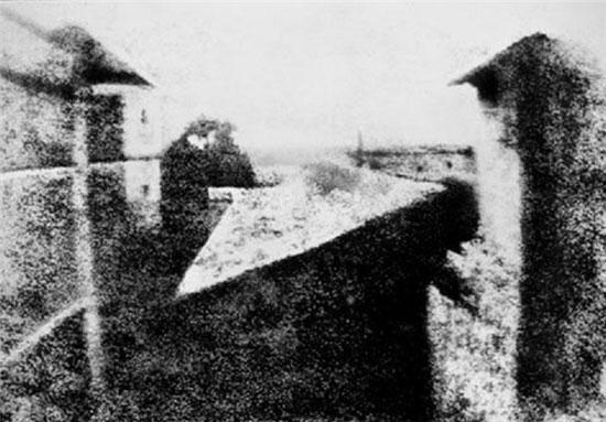 اولین عکس سیاه وسفید و رنگی تاریخ