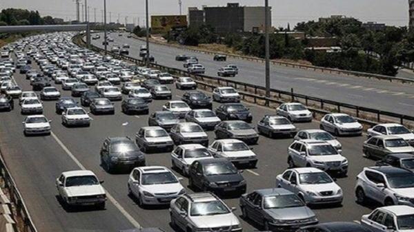 ترافیک راستا تفرجگاه های مشهد نیمه سنگین است