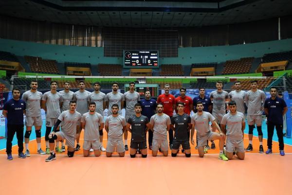تور اروپا: والیبال جوانان دنیا ، تقابل ملی پوشان ایران با تیم دوم اروپا در نخستین گام